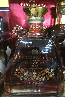 Brugerolle Aigle Xo Cognac 700 Ml Napolean French Rare