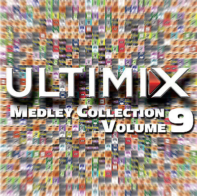 ULTIMIX MEDLEY COLLECTION 2 CD 80s MADONNA MEDLEY NEW 70s