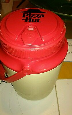 Vintage PIZZA HUT IGLOO 1/2 Gallon Thermos Cooler Pitcher Water Jug