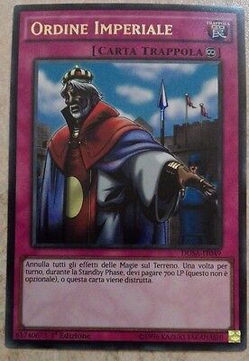 Ordine Imperiale Dusa-It049 Ultra Rara Mint Yugioh!