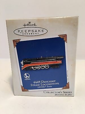 Hallmark Keepsake Ornament Lionel  449 Daylight Steam locomotive