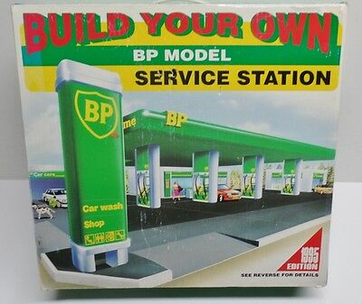Build Your Own Bp Model Gas Service Station Parts And Pieces Lot