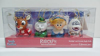 Rudolph The Red Nosed Reindeer Jingle Bell Buddies Ornaments Rudolph Hermie