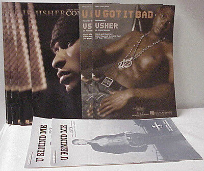 Usher Confessions U Got It Bad And U Remind Me Music Sheet Books Usher Music Lot