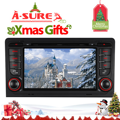 Car Stereo Radio DVD GPS Sat Nav system for AUDI A3(2003-2013) S3 RS3 RNSE-PU