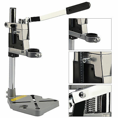 New Drill Press Bench Stand Repair Tool stand Workbench Pillar Clamp Drilling