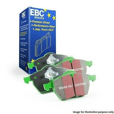 DP21326 Greenstuff Rear RH LH Brake Pads Replacement Toyota Celica Will By EBC
