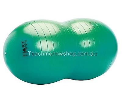 Antiburst Peanut Ball 60cm Green Proprioceptive Occupational Therapy Gross Motor