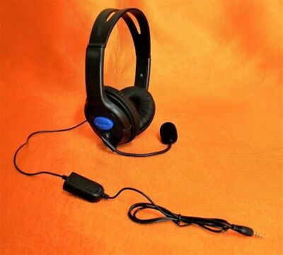 Cuffie auricolari con Microfono Compatibili  Playstation , Ps4 ,Pc  LINQ Ear-PS4