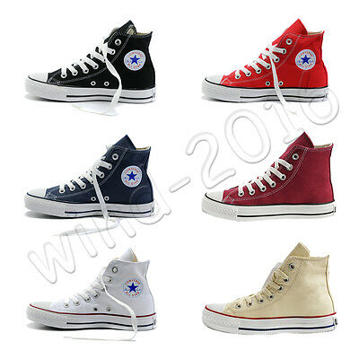 Converse Women's Ladies Lace up Canvas Shoes Casual Sneakers Trainers ALL STARs