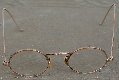Vintage Antique American Optical CORTLAND 1930s 1/10 12K Wire Frame Eye Glasses