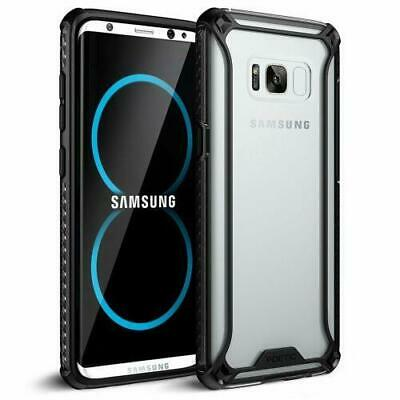 Poetic® For Samsung Galaxy S8 Plus TPU Bumper Slim Shockproof Cover Case Black