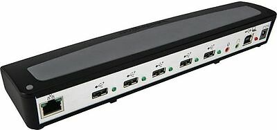 Kensington SD100 PC Notebook Docking Station 5 Port USB Hub RJ45 Port Replicator