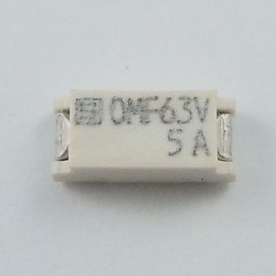 24 Pcs SCHURTER 7.4 x 3.1 mm Quick Acting OMF 63 SMT Surface Mount Fuse 63V 5A