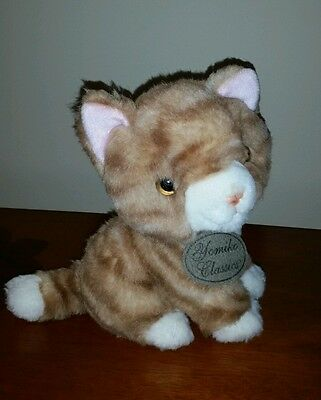 RUSS Yomiko Classics Ginger Cat Orange Kitty Tabby Plush Stuffed Animal Toy 7""