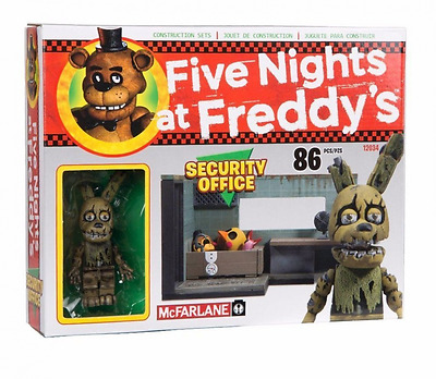 McFarlane Toys Five Nights At Freddy's The Security Office Construction Set'