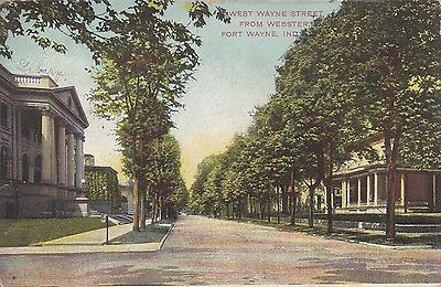 Fort Wayne, IN - West Wayne Street from Webster