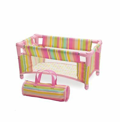 Manhattan Toy Baby Stella Take Along Travel Crib Pack and Play Accesso... NO TAX