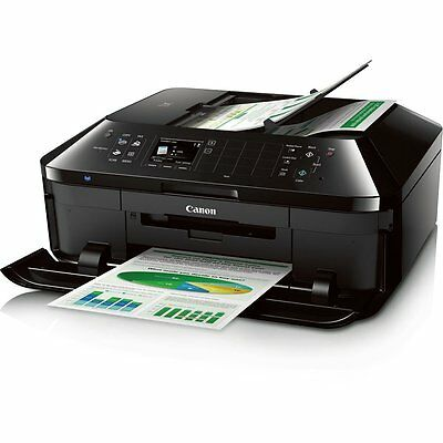 Mobile Wireless Printer Inkjet Canon Scanner All In One Office Copy Fax Scan