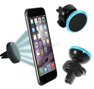 360 Degree GPS Car Cell Phone Rotation Magnet Universal Holder Air Vent Mount
