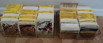 Vintage 1980s MY GREAT RECIPES Card Collection huge lot. Good Condition