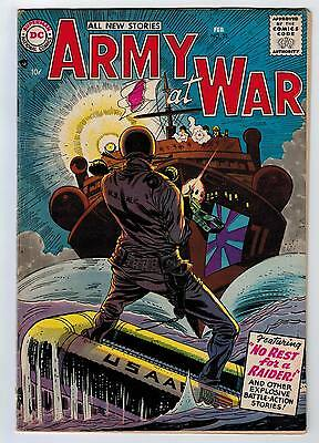 Our Army At War #55 4.5 1957 Off-White/white Pages