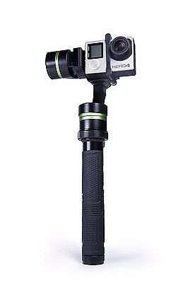LanParte LA3D-2 3-Axis Handheld Gimbal Stabilizer for GoPro Hero4 and Hero5