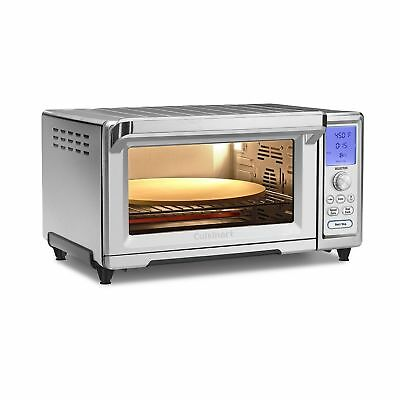 Cuisinart TOB-260N1 Chef's Convection Toaster Oven  Stainless Steel Ne... NO TAX