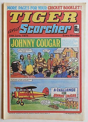 TIGER & SCORCHER Comic - 14th June 1975