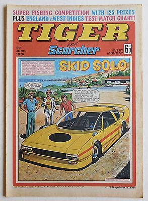 TIGER & SCORCHER Comic - 5th June 1976