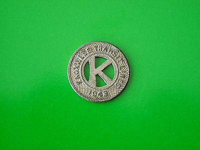 1943 Knoxville Transit Lines Token - Good For One Fare