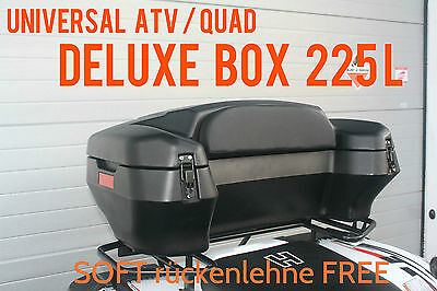 225L New Quad Suitcase Atv Top Case Transportbox Storage Box Pannier Bag