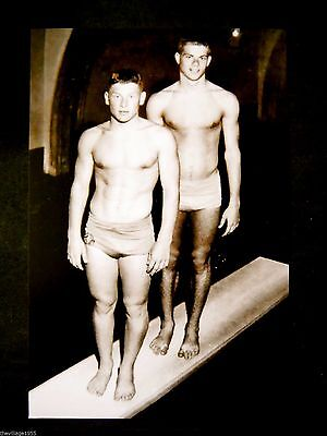 Postcard / Two Divers / Gay Interest