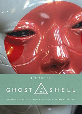 The Art of Ghost in the Shell by Titan Books New Hardback Book