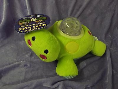 Turtle Night Light with Lights & Sound - Brand New with tags - FREE SHIPPING
