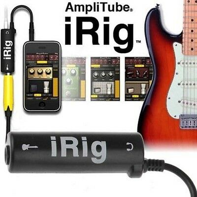 iRig Guitar Tuners iRig Guitar Interface Converter Adapter For iPhone iPod