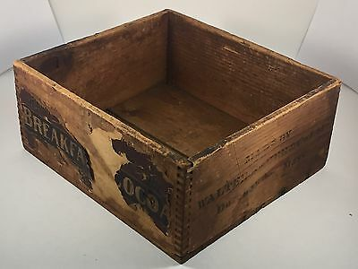 Antique Wooded Dovetail Crate Walter Baker Gold Medal 1900 Paris Exposition