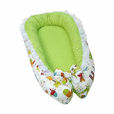 Lappi Baby Unisex Snuggle Nest - Giraffe Cosleeper Bed - 100% ... 2-Day Delivery