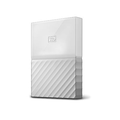 WD 1TB White My Passport Portable External Hard Drive - USB 3.0 - WDBY... NO TAX