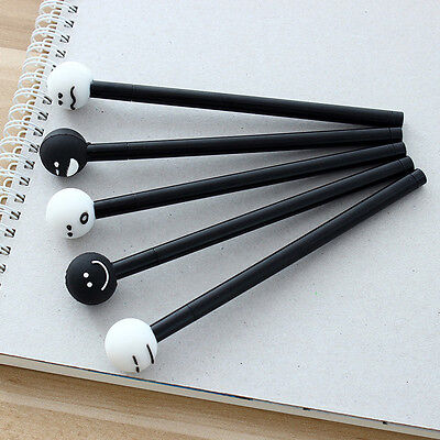 1X Expression Smile Face Ballpoint Gel Pen School Office Student Stationery Gift