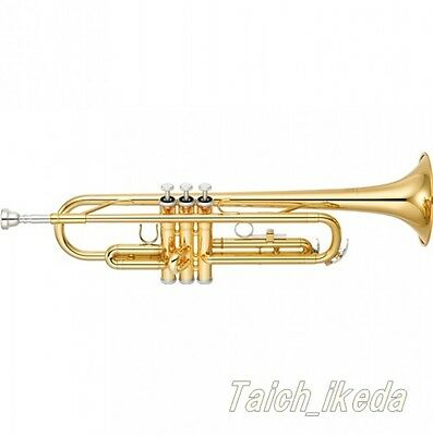 NEW YAMAHA YTR-2330 Bb Trumpet Gold Lacquer, Made in Japan EMS