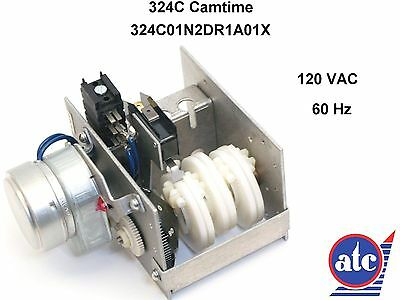 ATC 324C camtime 120 V clock 1/24 rph one cycle per day at 60 Hz  324C01N2DR1A0
