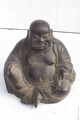 Buddah statue, early 19th century in Bronze .