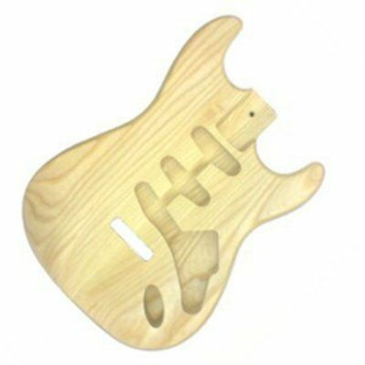 New Guitar Parts ST Guitar Body - Ash