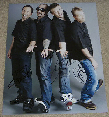 Backstreet Boys Authentic Band Signed 11x14 Photo Autographed, Nick Carter +More