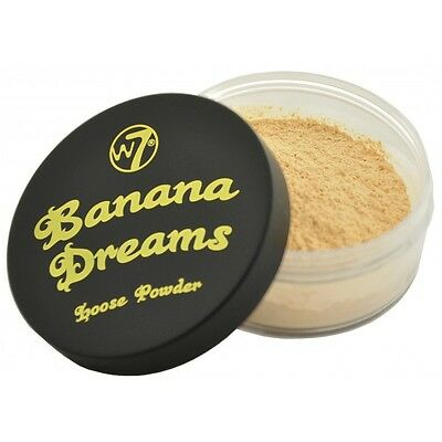 W7 Banana Dreams Loose Face Powder 20 g