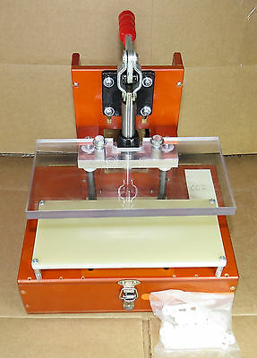 PCB Test Fixture Jig, Bed of Nails Pogo Fixture, Linear Slide Toggle 002