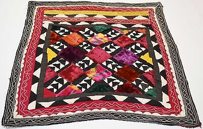 Old Hand Made Embroidered Patch Quilt Antique Suzani Vintage Embroidery 229