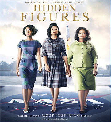 Hidden Figures [2016] CHOOSE 1: 4K or BLU-RAY or DVD (Ships Now)