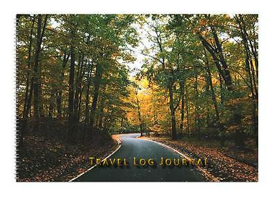 Caravan or Motorhome Owners, Travel Record Log & Journal - Forest Road D2